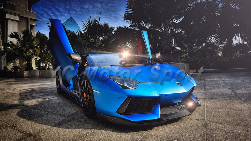car accessories carbon fiber front lip 011 2014 aventador lp700 dmc molto veloce base package style front lip with sword