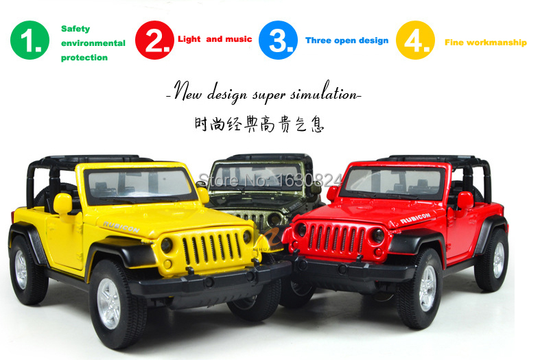 132 new metal jeep wrangler classic cars kids antique model toys car classic vintage alloy car model pull back wholesale in diecasts toy vehicles from