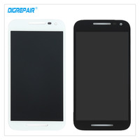 New 5 Inch Black White For Motorola Moto G3 LCD Display Touch Screen Digitizer Assembly Repair