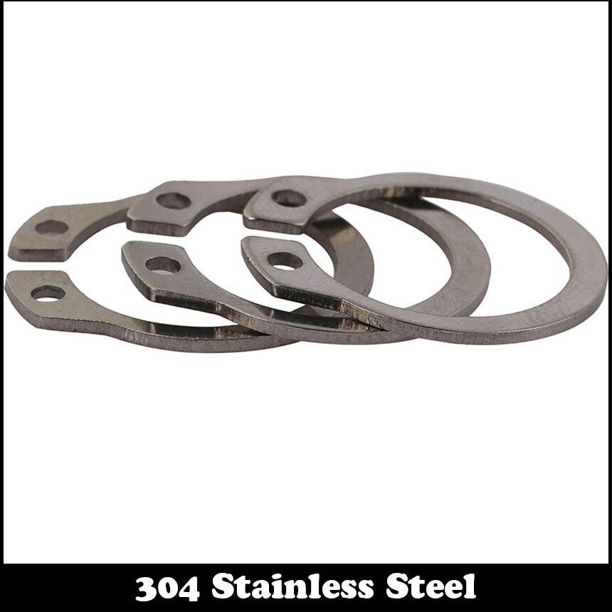 Spring Steel 1400 pcs External Retaining Rings DIN 471 Metric Phosphate Coated M4