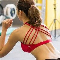 Professional Anti Vibration For Women Sports Comfort Brazilian Breathable Yoga Activewear Women Cross Sexy Fitness Sports