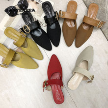 Bvckle Womens Summer Shoes Casual Fashion Flat Slippers Classic Fashionable