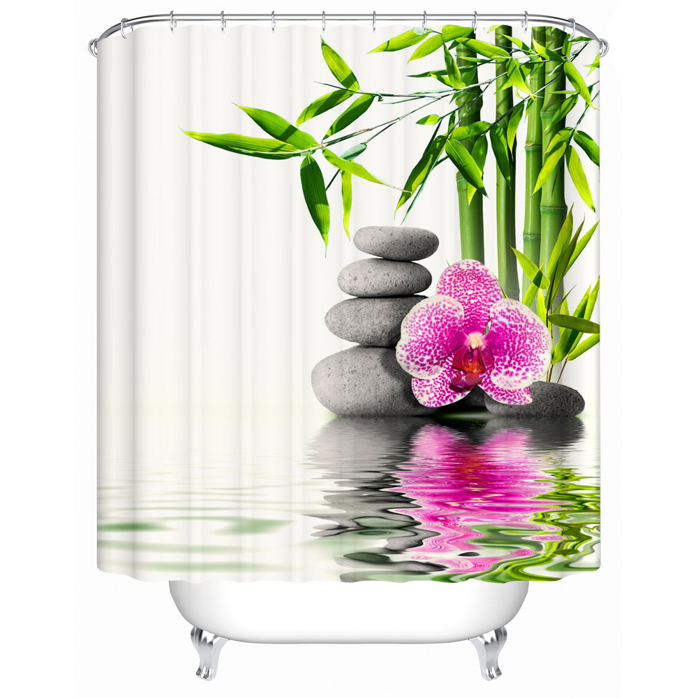 Chinese style Shower Curtains Bathroom Curtain Quality Practical Household Items Waterproof Shower Curtain Y 017