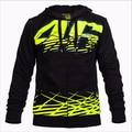 Black Valentino Rossi VR46 Moto GP Monza Hoodie Moto GP Sport Adult Sweatshirts  jyje