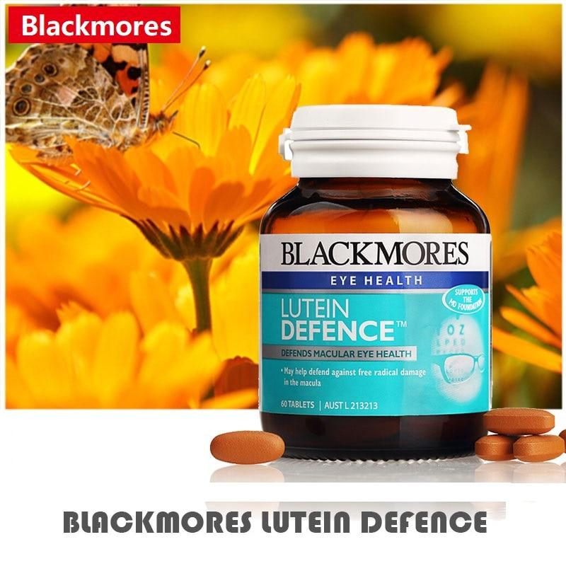 Australia BM Lutein defensa antioxidante fórmula compatible con función de ojo Macular salud Reduce el alivio de la presión de los ojos-in Conjuntos from Belleza y salud    1