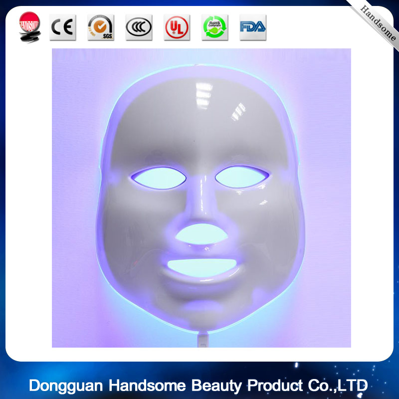 Electric LED Mask 7 Colors Light PDT Photon Face Skin Care Skin Rejuvenation Anti Acne Wrinkle Removal Therapy Beauty Salon 7 colors light photon electric led facial neck mask skin pdt skin rejuvenation anti acne wrinkle removal therapy beauty salon