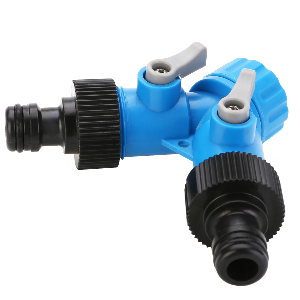 3/4 Inch Two Way Tap Y Hose Pipe Garden Irrigation Splitter Tap Connector Fitting Adapter For Home Garden Irrigation Tool
