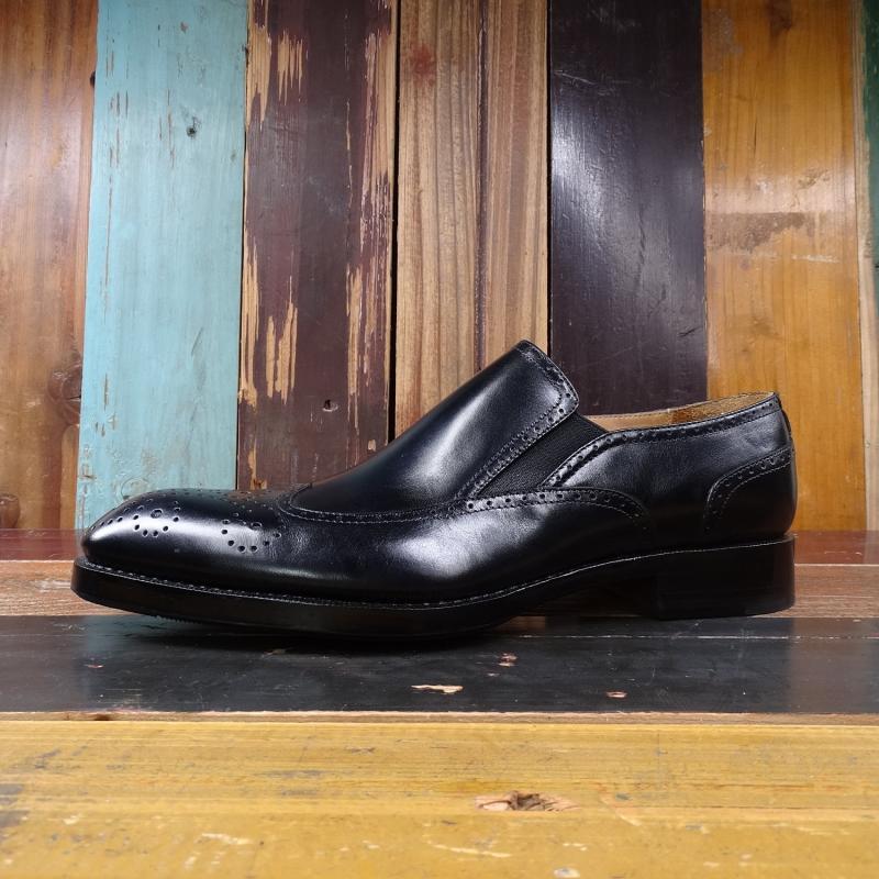 on Genuíno Slip Mens Sipriks Retro Brogue Escritório Preto Couro De Sapatos Vestir Banquete Clássicos Goodyear Negócios Dança Patrão Welted nqz8zwYSx