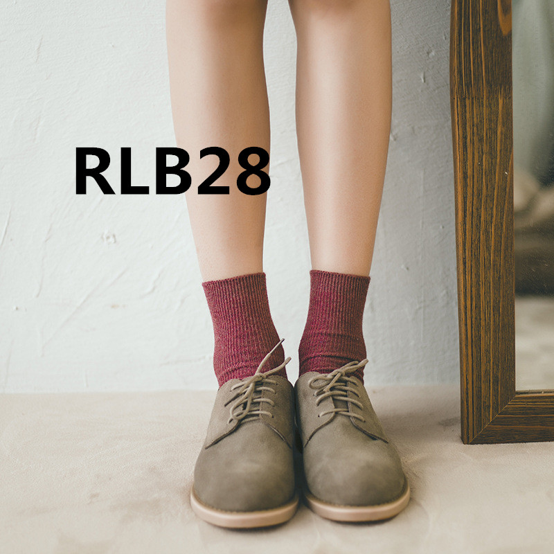 2018 new arrive fashion Women socks high quality RLB28 model 2 pairs/set