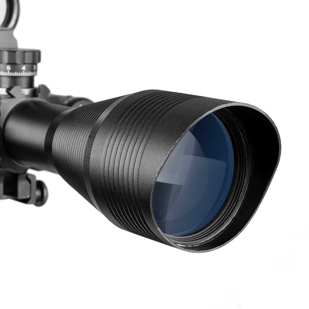4-12X50 Ví Dụ Như Săn Bắn Airsofts Riflescope Không Quân Chiến Thuật Súng Đỏ Xanh Chấm Phạm Vi Tầm Nhìn Toàn Phương Quang Học Súng Trường Phạm Vi