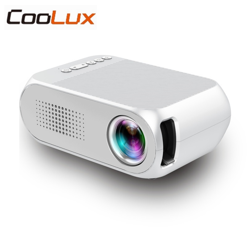 Coolux YG-320 Portable LED LCD Projector 400-600