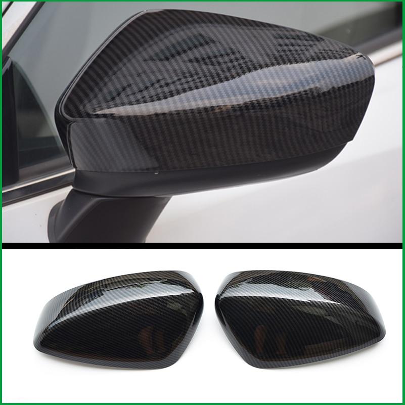 FOR Mazda 3 M3 Axela 2014 2015 2016 Sedan Hatchback Side Door REAR SIDE-VIEW WING REARVIEW MIRROR COVER STICKER TRIM Car Styling стоимость