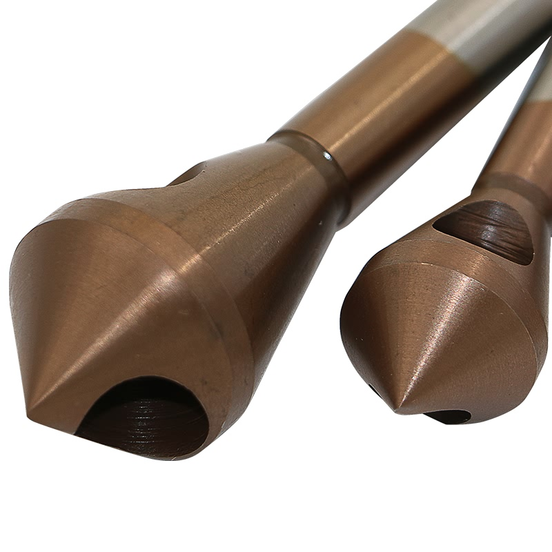 QSTEXPRESS HSS CO M35 Countersink Deburring Drill Bit Metal Taper Stainless  Steel Hole Saw Cutter Chamfering Power Drill Tool