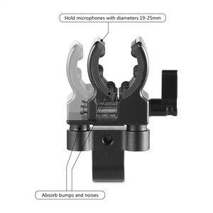 Image 4 - كاميرا صغيرة الحجم بمشبك لحامل الميكروفون العالمي DSLR لمشبك تثبيت المسدس والميكروفون 1993
