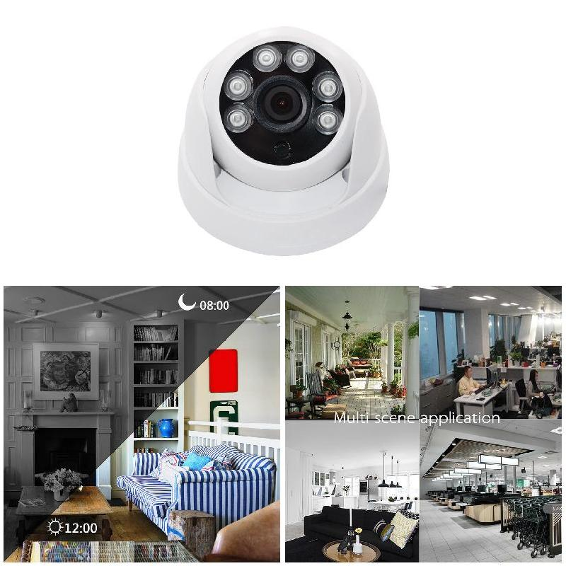 One Set Dome CCTV Camera with 6pcs LED 1080P HD Indoor 2.0MP Night Vision SD998One Set Dome CCTV Camera with 6pcs LED 1080P HD Indoor 2.0MP Night Vision SD998