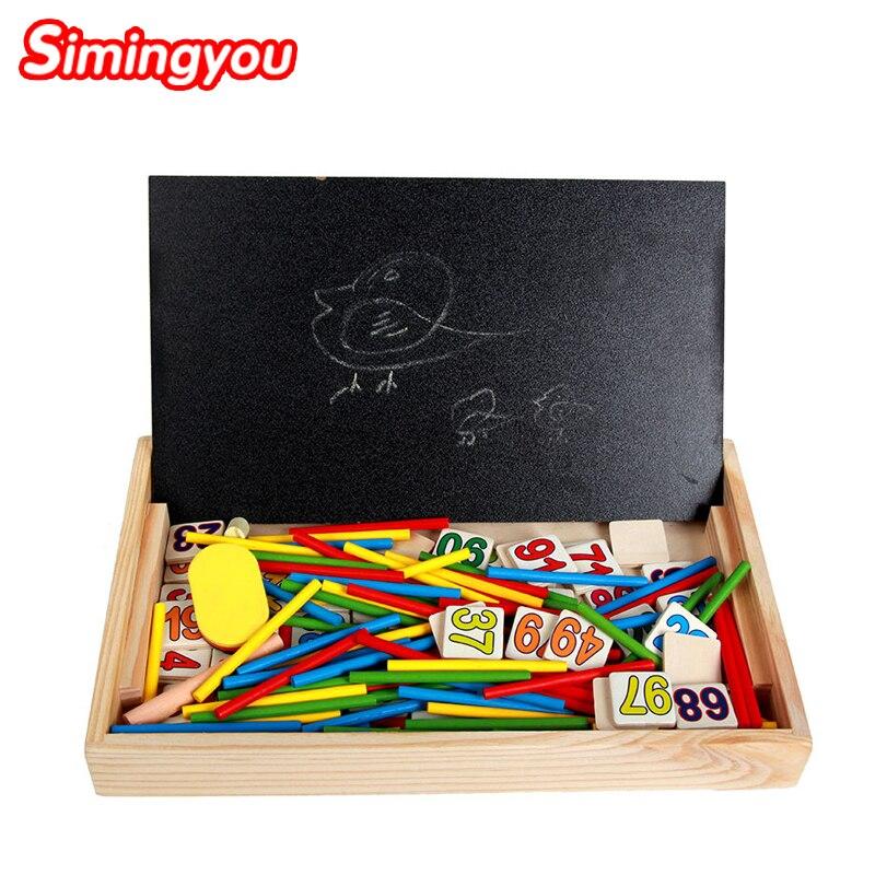 Simingyou Montessori Houten Speelgoed Educatief Baby Montessori - Leren en onderwijs - Foto 3