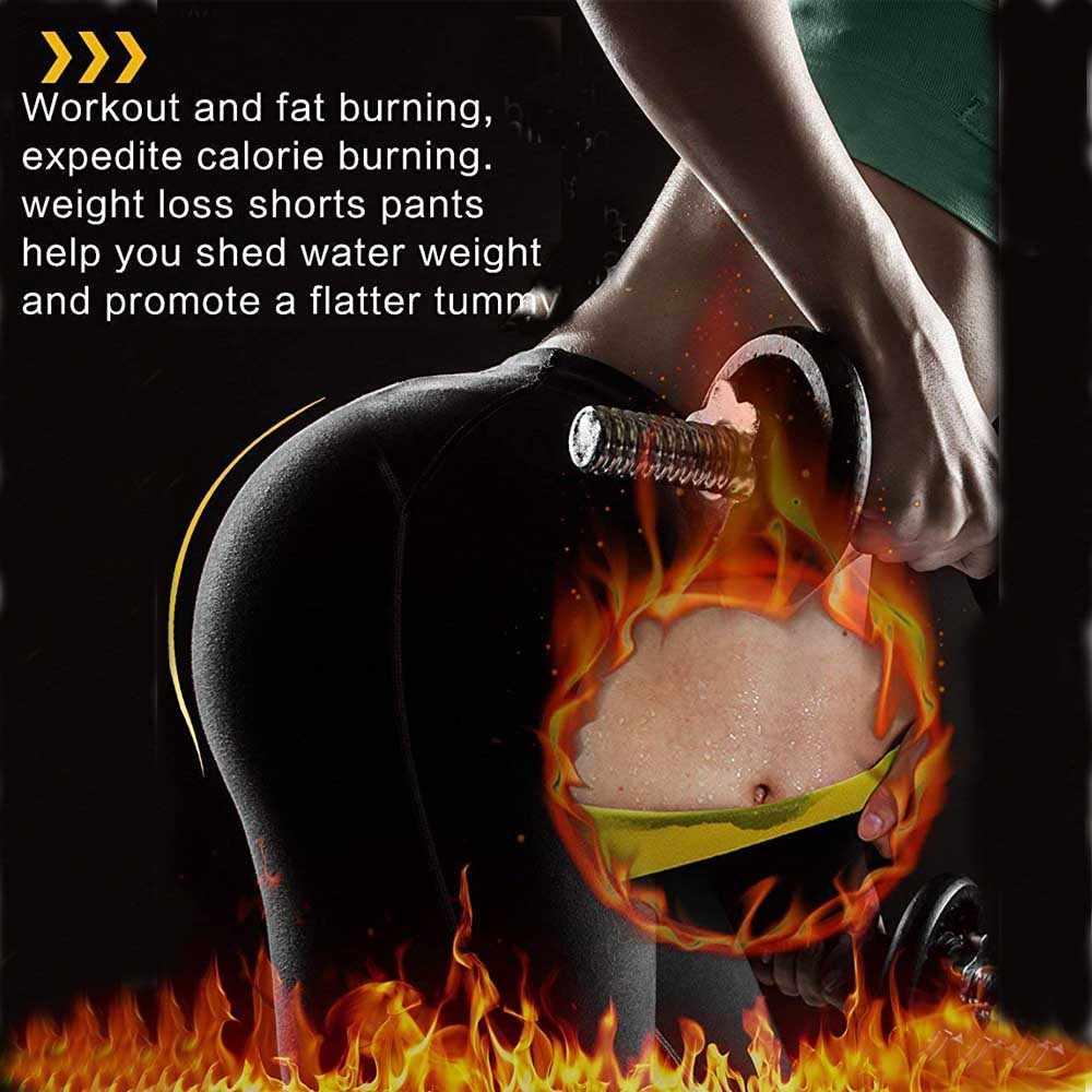 Lover beauty Body Shaper брюки для похудения термо-Пот Сауна Корректирующее белье женский пояс на талию, для похудения боди Shaper control Pants