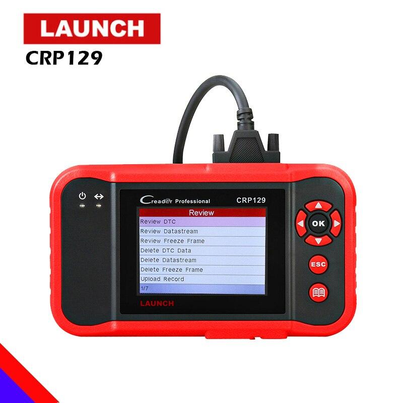 2018 Nouveau Lancement Original X431 Creader CRP129 Code Lecteur Outil D'analyse ENG À ABS SRS EPB SAS Lumière de Service D'huile réinitialise Code Scanner