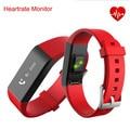 2016 hot sleep monitor de ritmo cardíaco muñequera vidonn a6 smart watch fitness rastreador ip67 impermeable pulsera para ios y android negro