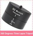 Gopro acessórios 360 Graus Panorama Panning Rotating Time Lapse Estabilizador adaptador de tripé para gopro 5 xiaomi yi sjcam m20 4 3