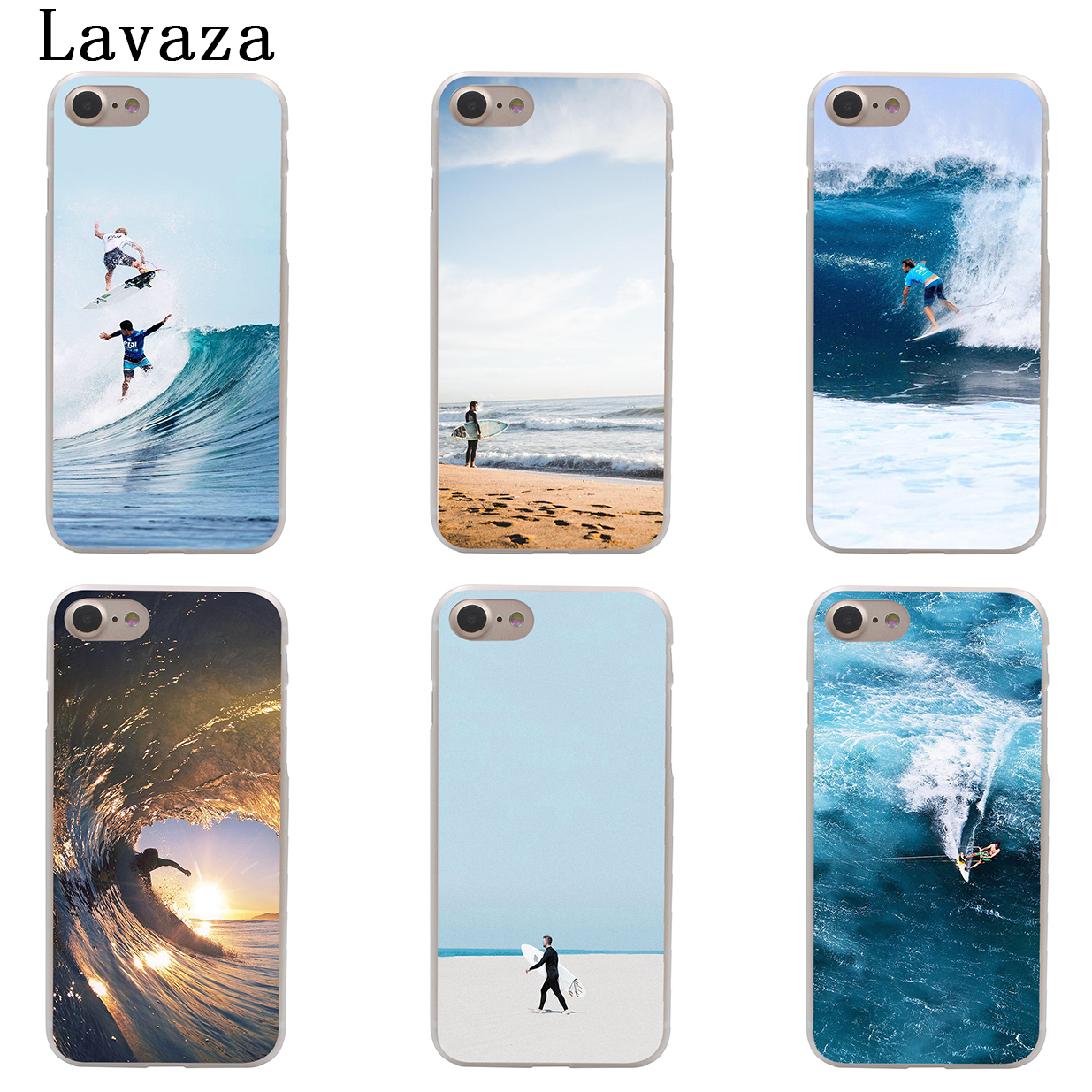 Maiyaca Wave Ocean Surfing Case For Iphone 6 6s Fundas Case Black Rubber Back Cover Coque For Iphone 6 6s Soft Tpu Shell With A Long Standing Reputation Phone Bags & Cases