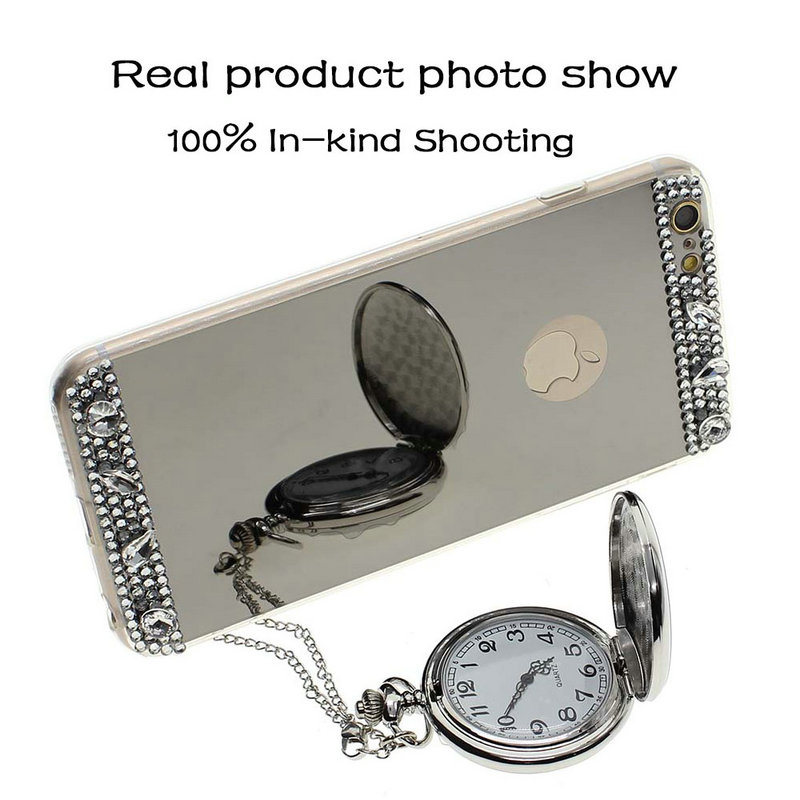Chic Design Soft Silicone Mirror Electroplate Cover Case for iPhone 5/5S