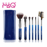 New Women Makeup Brushes 7Pcs Set Design Professional Synthetic Hair Foundation Make Up Cosmetics Brushes Kits