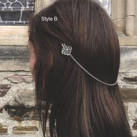 Celtics Knot Hair Accessories Norse Hair