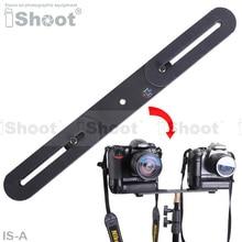 Металл 2 держатель камеры / вспышки кронштейна с 2 * 1 / 4 » винт для канона Nikon Pentax Olympus Sony Minolta DSLR LOAD-3Kg