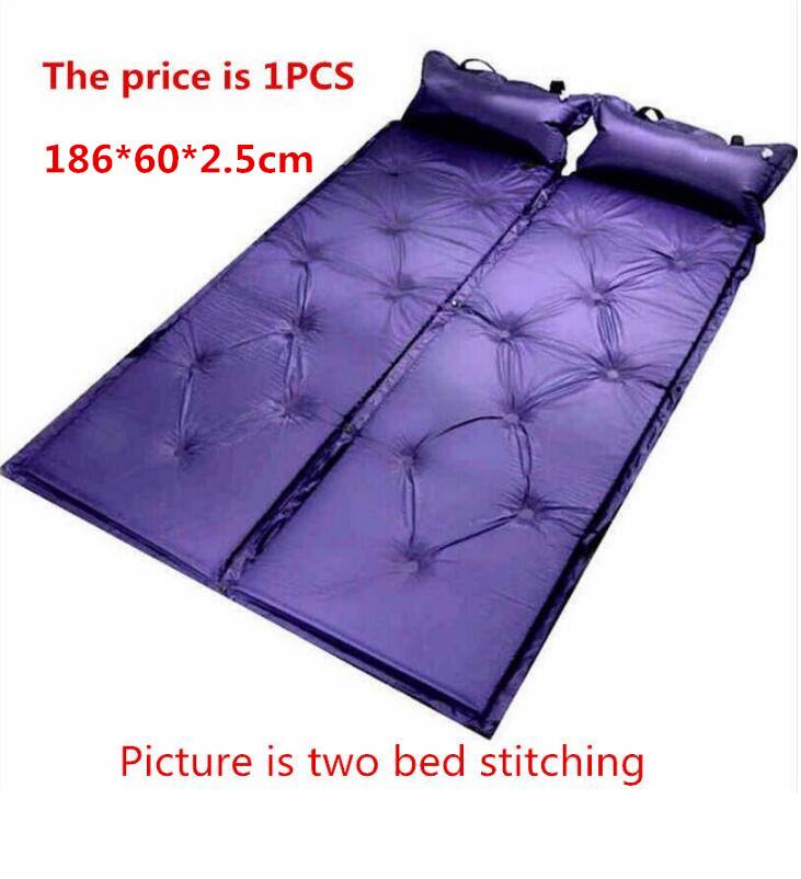 Mobile Inflation Travel Thicker Back Seat Cushion Air Bed For Suv Car Inflatable Sleeping Air Mattress Intex Camping Pad Mats