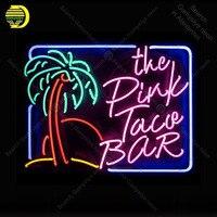 Неоновая вывеска розовый taue Бар неоновый сигнал лампы дисплей знаковых Пивной бар Pub лампа ручной работы рекламировать Letrero enseigne люмин