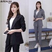 Pant Suits Women Casual Office Business Suits Formal Work Wear Sets Uniform Styles OL women's suits Female Blazer Jacket