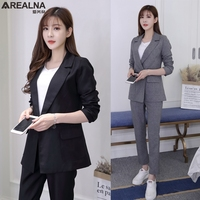 Pant Suits Frauen Casual Büro Anzüge Formalen Arbeitskleidung Sets Uniform Styles OL frauen anzüge Weiblichen Blazer Jacke