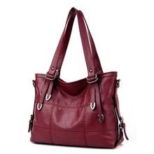 2018 New Arrival Ladies Hand Bag Women's Genuine Leather Handbag Leather Casual Tote Bag Bolsas Femininas Female Shoulder Bag