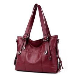 2019 New Arrival Ladies Hand Bag Women's Genuine Leather Handbag Leather Casual Tote Bag Bolsas Femininas Female Shoulder Bag