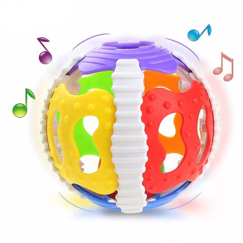 2017 Baby Rattle Toys Cute Fun Loud Gym Jingle Ball Rattling Bell Crawling Balls High Qu ...