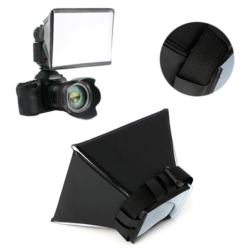 Camera & Photo Professinal Opvouwbare Flash Diffuser Softbox voor Canon Nikon Sony