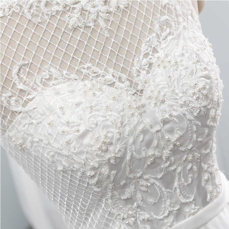 Vestido de casamento do vintage colher vestido de noiva capela trem vestidos de casamento Grown Custom made vestido de casamento Sashes vestido para o casamento
