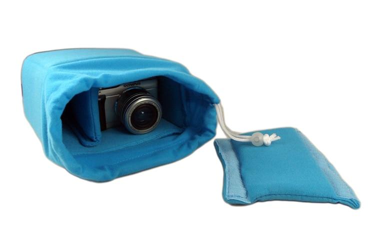 Online Shop Shockproof Thick Padded Camera Drawstring Bag Insert ...