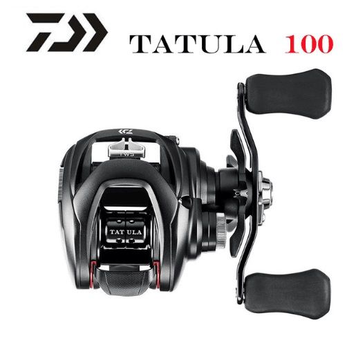 Катушка рыболовная DAIWA NEW Tatula 100H 100HL 100HS 100HSL 100XS 100XSL, низкопрофильная, 7BB + 1RB
