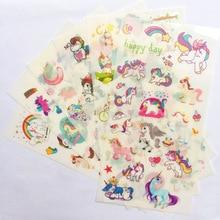 цена на Unicorn Sticker Colorful Cute Unicorn Horse Kawaii DIY Stickers Diary Planner  Note Diary Paper Scrapbooking Albums Decor