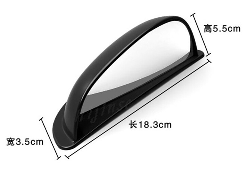 Bon Car Rear Seat Door Blind Spot Mirror Auxiliary Wide Side Rear View Mirror  For Ford Focus Kuga Escape Ecosport Edge Fiesta 2pcs In Car Stickers From  ...