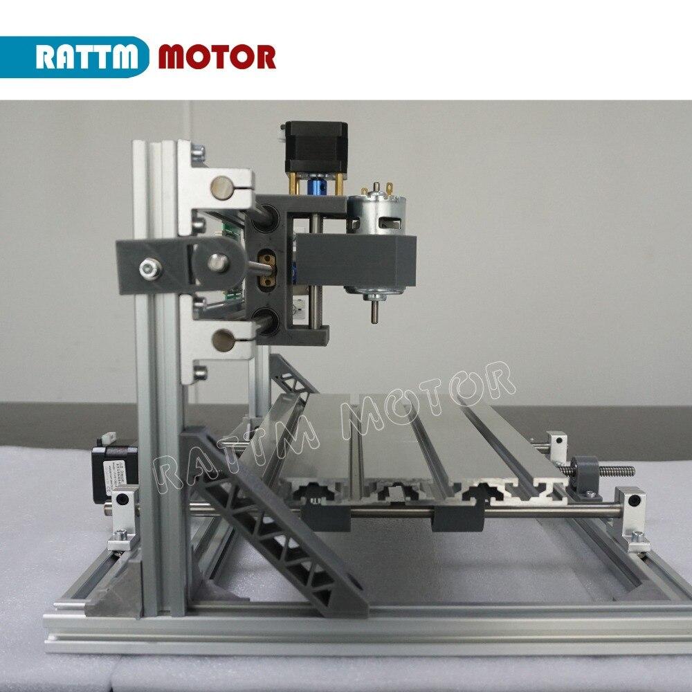 Vaisseau RUS!! CNC 3018 GRBL contrôle bricolage CNC machine 30x18x4.5 cm, 3 axes Pcb Pvc fraiseuse bois routeur laser gravure v2.5 - 6
