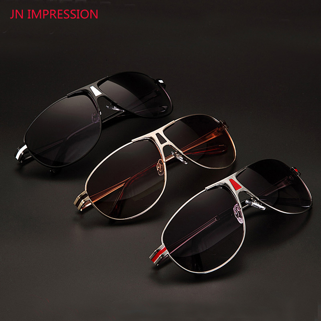9e6c30d323 JN IMPRESSION Bifocal Reading Glasses Fashion Men Women Presbyopia Glasses  Polarized sunglasses Diopter 1 1.5 2+2.5 3 3.5