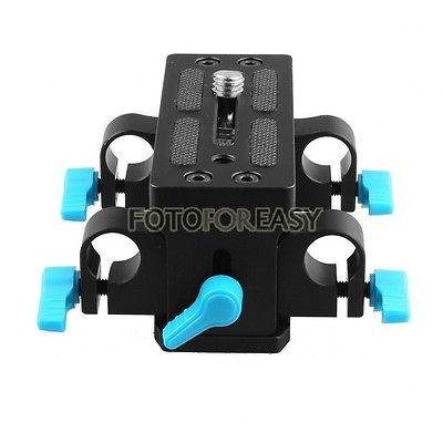 FOTGA DP3000 15 mm Rail Rod placa de base avanzada para HDV DSLR Siga - Cámara y foto - foto 6