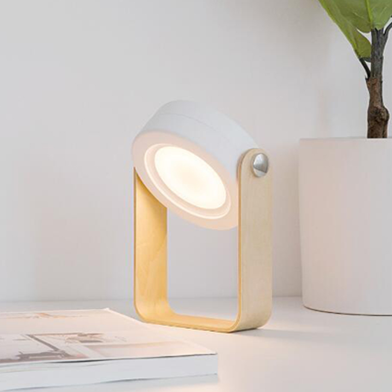 Led Night Light Foldable Touch Dimmable Reading Portable Lantern Lamp USB Rechargeable for Children Kids Gift Bedside Bedroom (7)