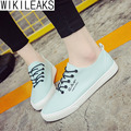 Wikileaks 2016 New Fashion Women  ALL-Match Casual Shoes Woman Flat With Lace-up College Style Student Shoes Zapatos Mujer