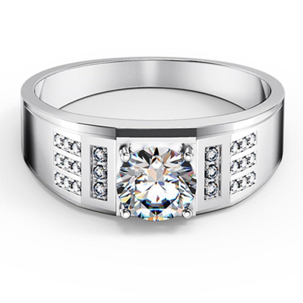 bague diamant pour homme