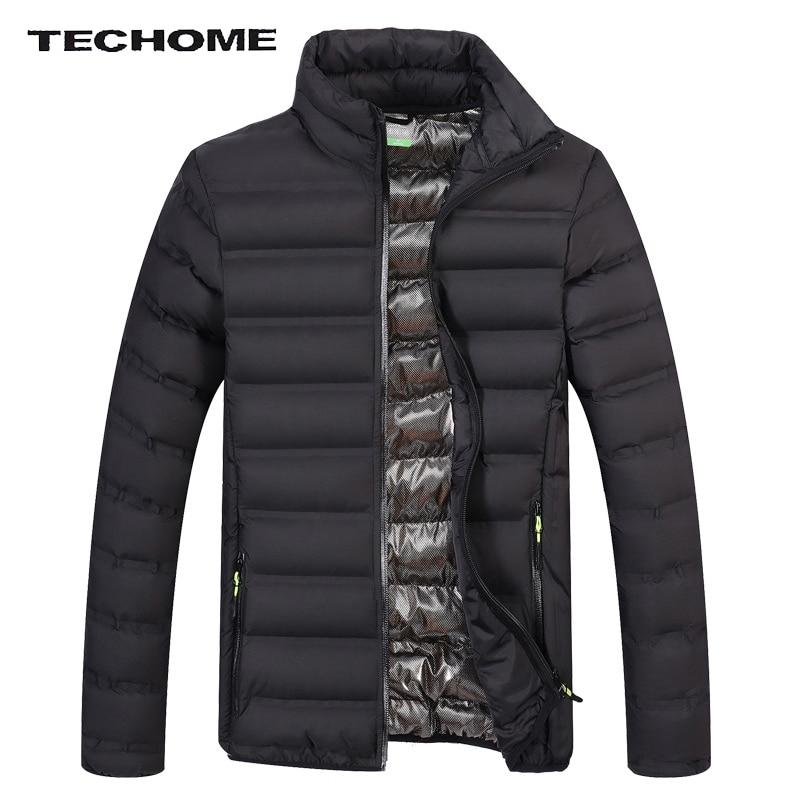 2017 Männer Jacke Mode Für Männer Dicke Warme Wintermantel Und Jacke Plus Größe Baumwolle Freizeitjacke Parka Männer Freizeitjacke M-4xl