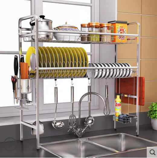 304 Stainless Steel Sink, Bowl Rack, Drain Rack, Kitchen Rack, Sink,
